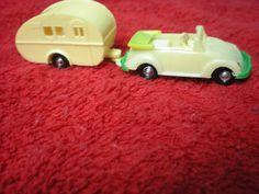 VW Toy Volkswagen Beetle VW Vintage Toy Trailer HO