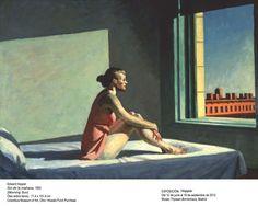 Morning Sun by Edward Hopper, Grand Palais 2012.