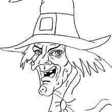 Dibujo de Momia malvada para Colorear  Dibujos de Halloween para