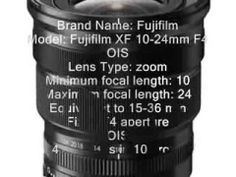http://youtu.be/PMWnx8WdV2o NEW Camera Lens (Fujifilm XF 10-24mm F4 OIS) PRE-ORDER