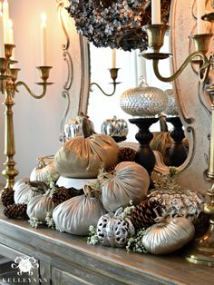 Velvet Pumpkins for fall decor are gorgeous for a Thanksgiving table and all the way through the Holidays!  Find at LoveFeast Shop ~ www.lovefeastshop.com #velvetpumpkin #plushpumpkin #lovefeastshop #linenpumpkins