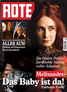 Made as a German magazine