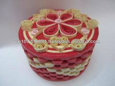 Quilled Box: What a great idea!
