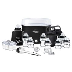 Tommee Tippee Closer to Nature Essentials Set - Black