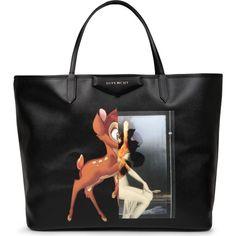 GIVENCHY Antigona large Bambi-print leather shopper