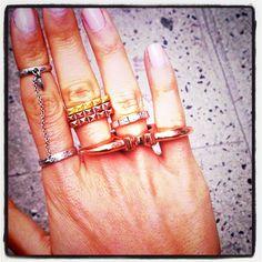 Bracelets by Shashi I like to decorate my arms. I like the share the decorative