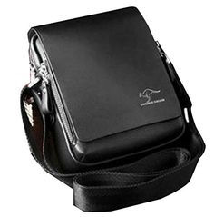 b76cb5710354 Buy Men's Genuine Leather/PU Authentic Kangaroo Kingdom Shoulder Messenger  Bag - Black - and More Fashion Bags at Affordable Prices.