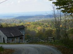 From Rupert starting down the back side of Beech Knob, Greenbrier Co. can come to either Carl or Fenwick, Nicholas Co.