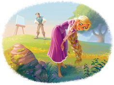 Posting art from Rapunzel