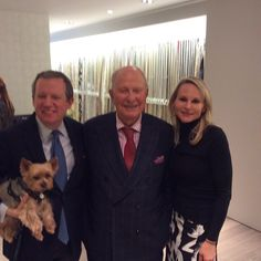 """@scottsees's photo: """"@alexsviewpoint #teddynewyorkie Jack Lenore Larsen and @keykhall at @cowtanandtout at the #wdcgrandopening"""""""