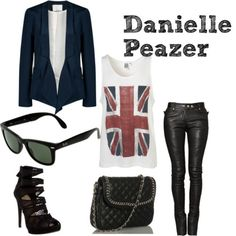 Danielle Peazer inspired  Yessss, this is me.  Through and through...I just need the shoes...death traps more like...