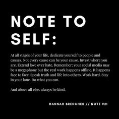 be kind be kind be kind Hannah Brencher, Girl Boss Quotes, Motivational Words, Live Your Life, Note To Self, Beautiful Words, Personal Development, Purpose, Poems
