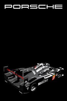 Porsche 919 Hybrid Poster Series