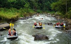 Whitewater Rafting at Mae Taeng River Chiang Mai, Thailand