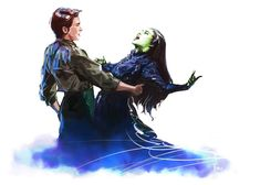 wicked the musical by wingpoltergeist on DeviantArt