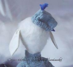 Авторская текстильная кукла Барашек Василий