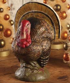 Bethany Lowe Turkey this would be so adorable on a table!