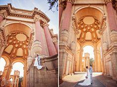 Wedding at the Palace of Fine Arts – San Francisco