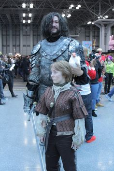 The most dead-on Arya Stark and The Hound cosplay in the history of ever. - that about sums this up! Wow.
