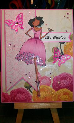 Upton's Nut Farm--Stamping Bella--Faith the Fairy--Pink