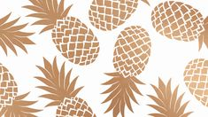 Oh So Lovely Blog: PRETTY PINEAPPLE DESKTOP WALLPAPERS