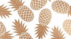 White gold pineapples desktop wallpaper background