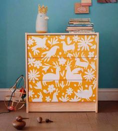Love... DIY Mexican Otomi Dresser