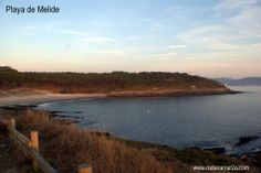 Playa de Melide.