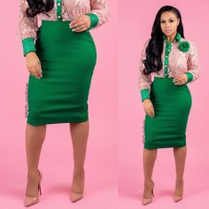the office clothes Stylish Office Wear, Work Wear Office, Casual Office, Office Wear Dresses, Office Outfits, Neon Green Outfits, Classy Work Outfits, Outfit Work, Work Attire