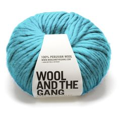 wool and the gang™ — yarn - CRAZY SEXY WOOL magic mint 19 euro