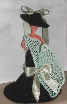 Crochet mode poupée Barbie patron - n ° 432 ENCHANTEMENT 2