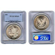 Morgan Silver Dollar M63 Coin  #Silver #IRA #401K #Investing #numismatic #regal_assets_review #Regal_Assets