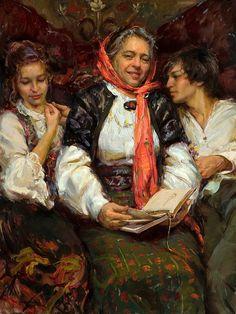 Daniel F. Gerhartz, 1965 | American Impressionist Figurative painter