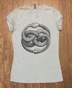 The Neverending Story Symbol Tee Shirt Men Women by QBeeSupply