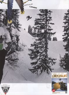 Pleasure - German Austrian Magazine - Arthur Longo - Snowboard Team - Aug12