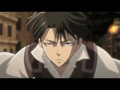 (A Choice with) No Regrets (part 1 trailer) Levi Attack on Titan Shingeki no Kyojin Attack On Titan Levi, Levi X Eren, Armin, Cosplay Meme, Otaku, M Anime, Anime Guys, Connie Springer, Captain Levi