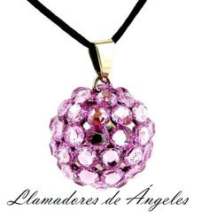 b8f79c7097d4 4950B Llamadores de Ángeles Crystales Gliters 2.6cm Alto Volumen