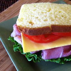 Help us fight hunger in partnership with Feeding America when you pin or re-pin Land OLakes recipes. Learn more at www.landolakes.com/FeedingAmerica.  Gluten Free Sandwich Bread recipe