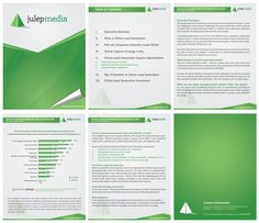 New Ms Word Template Design For A White Paper Julep Media By F