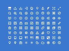 80 Shades of White - Free Icons