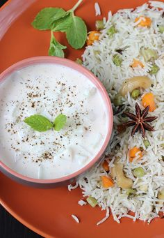 cucumber raita recipe- a yogurt based side. one of the quick & easy raita to accompany a biryani or pulao. Biryani meal is incomplete without a raita