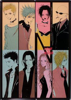 Anime Nana, Nana Manga, Anime Love, Manga Anime, Manga Art, Anime Films, Anime Characters, Aesthetic Art, Aesthetic Anime