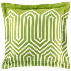 happy chic by jonathan adler green pillow