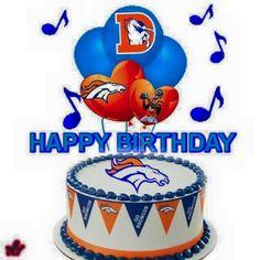 ♥♥ Happy Birthday, Birthday Cake, Glass Jug, Denver Broncos, Babe, Happy Brithday, Urari La Multi Ani, Birthday Cakes, Happy Birthday Funny
