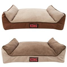 """Kong Dog Bed -the perfect bed for strong chewers! its advertised as """"chew resistant"""". BELLA NEEDS THIS"""