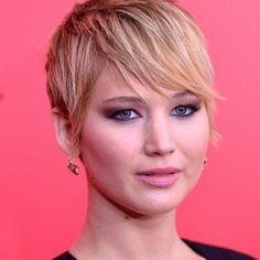 Jennifer Lawrence short hair | Jennifer Lawrence Short-Hair Comparisons