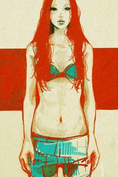 たえ http://www.pixiv.net/member.php?id=61127  cool painting/graphic