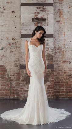 Image result for lace wedding gown fish tail