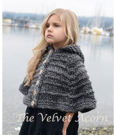 Knitting Pattern For A Little Girl s Cape : 1000+ images about Childrens knits on Pinterest Heidi may, Ravelry and...