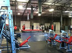 home boxing gym - Google Search